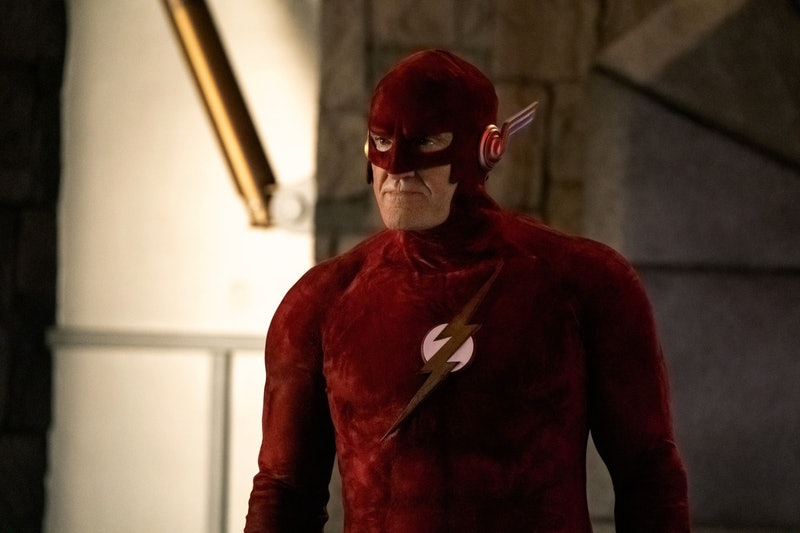 """The Flash's death on """"Crisis"""" saves Barry Allen."""