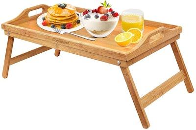 Cozihoma Bamboo Breakfast Tray