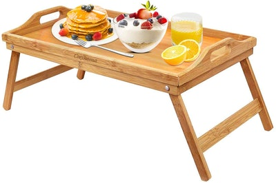 Cozihoma Bamboo Breakfast Tray