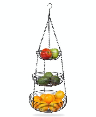 Home Intuition 3-Tier Hanging Basket