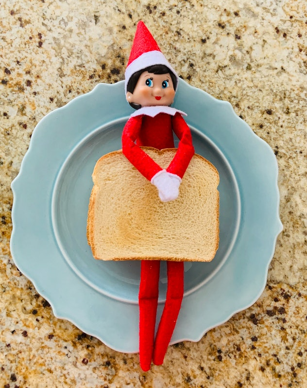 Elf on the Shelf sandwich