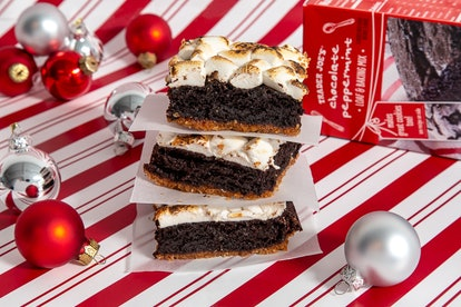 Trader Joe's Chocolate Peppermint Loaf is the ideal holiday baked good.