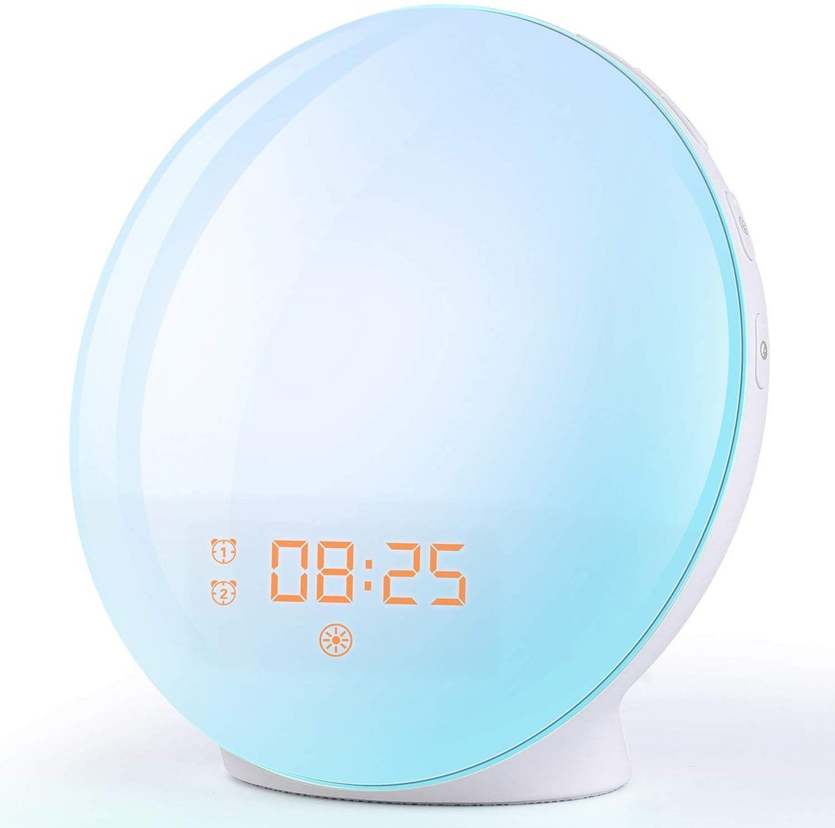 FITFORT Wake Up Light Alarm Clock