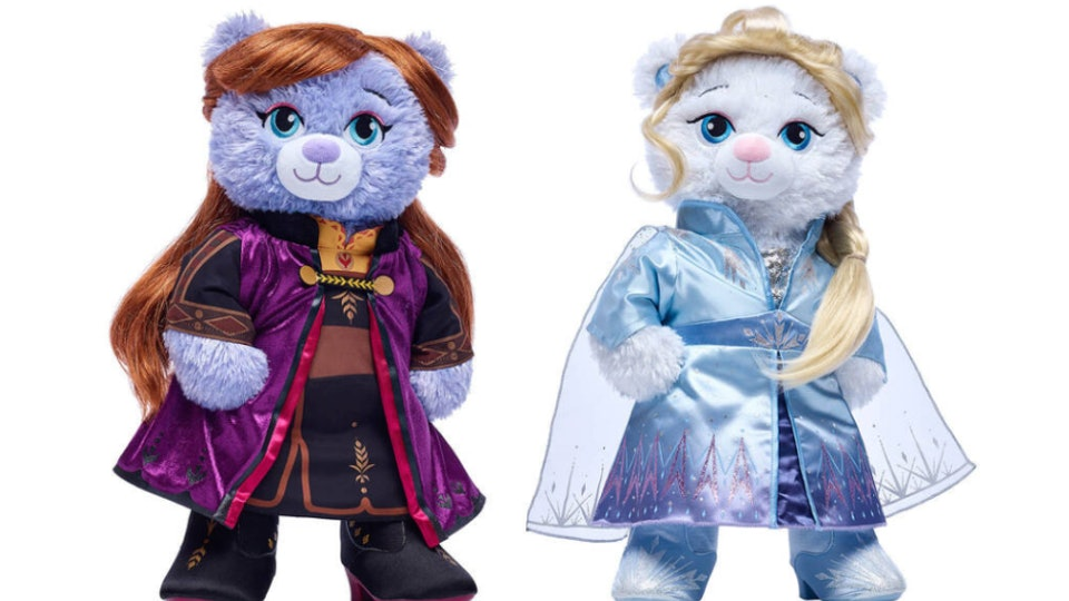 Anna and Elsa Build-A-Bear Dolls are part of their store-wide sale
