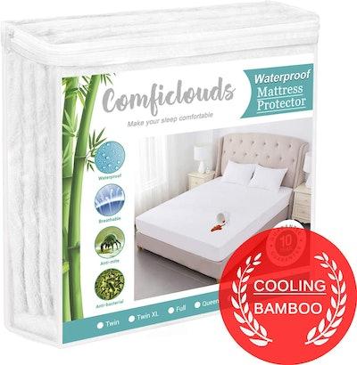 Comficlouds Cooling Hypoallergenic Waterproof Mattress Protector