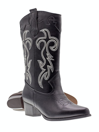 Canyon Trails Women's Embroidered Cowboy Boots