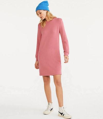 Signaturesoft Plush Sweatshirt Dress