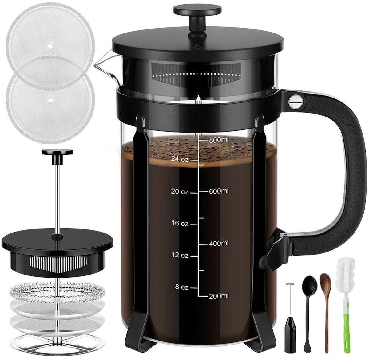 Veken French Press Coffee Maker (34 oz)