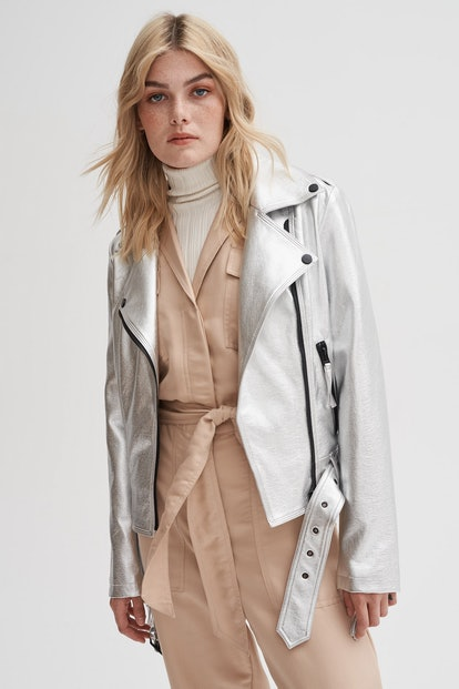The Star Bright Vegan Leather Jacket
