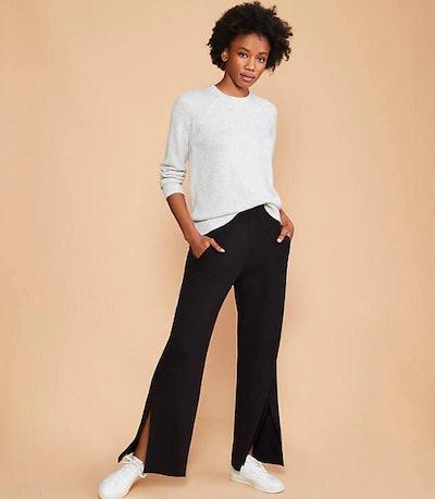 Signaturesoft Plush Wide Leg Pants