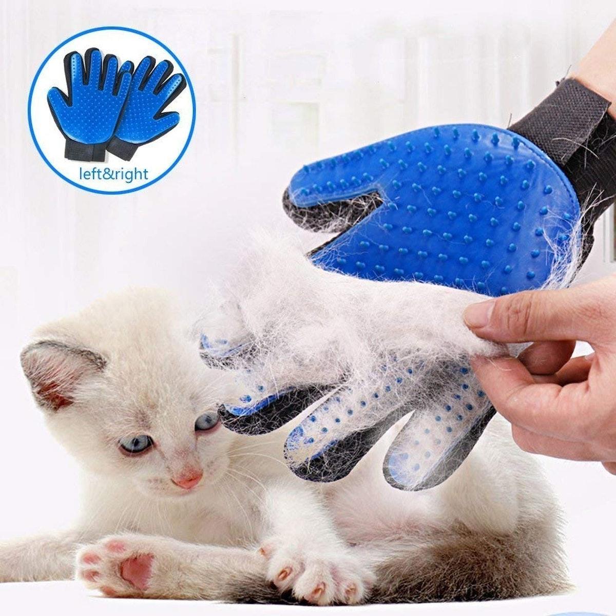 StarRoad Pet Grooming Gloves (1 Pair)