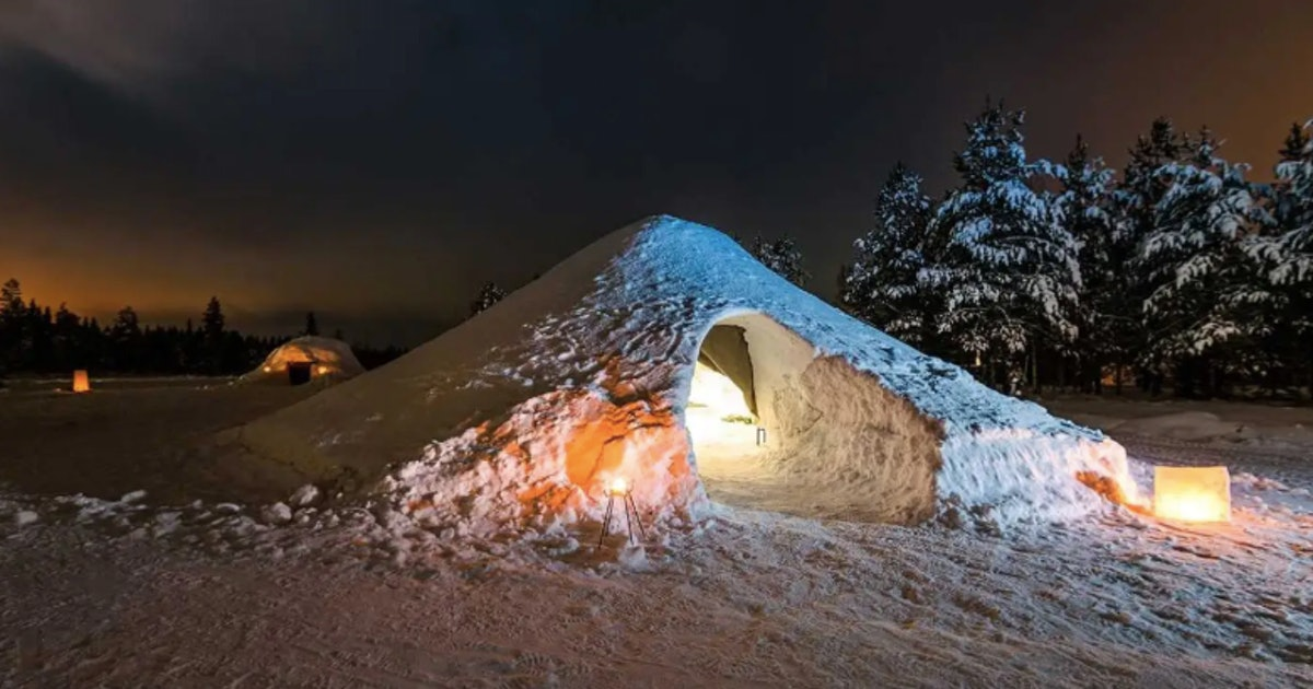 This Snow Igloo Airbnb In Finland Is A Literal Winter Wonderland