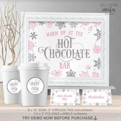 Hot Chocolate Bar Kit