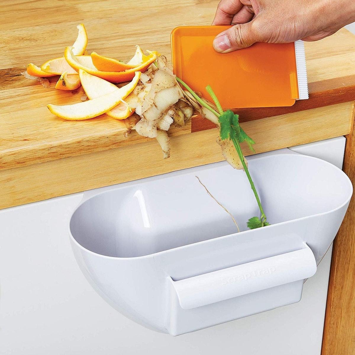 KitchenArt Scrap Trap With Scraper
