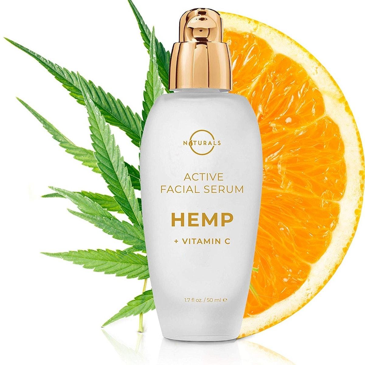 O Naturals Hemp Vitamin C Serum for Face