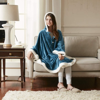 Comfort Spaces Glimmersoft Hooded Angel Wrap