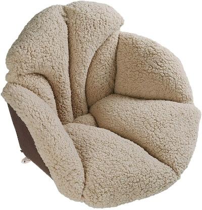 Hughapy Sherpa Chair Cushion