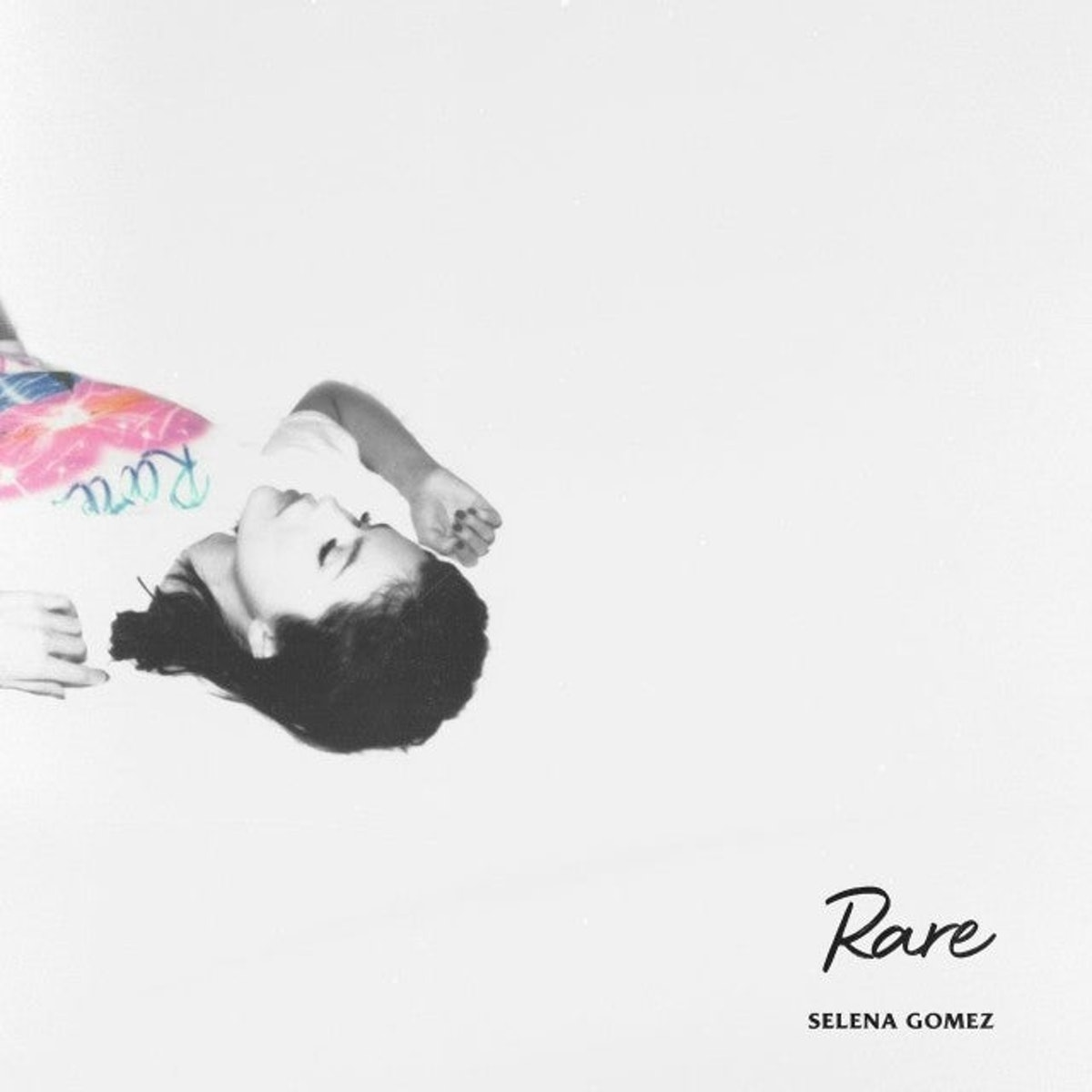 Selena Gomez poses for 'Rare' album cover.