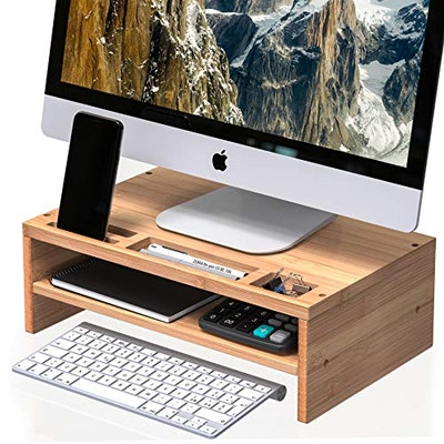 Well Weng Desk Monitor Riser Stand