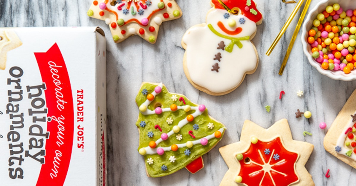 Trader Joe's Holiday Ornaments Cookie Kit Lets You Decorate To Your Heart's Desire