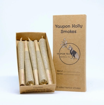 Yaupon + CBD Herbal Smokes