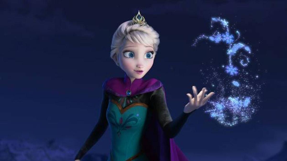 Elsa in 'Frozen'