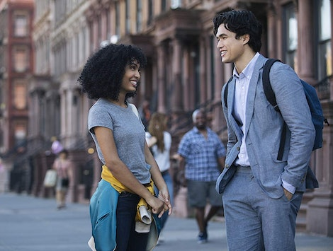 Actors Yara Shahidi and Charles Melton appear in 'The Sun Is Also a Star,' which is among the new movies and TV shows on HBO in December 2019.