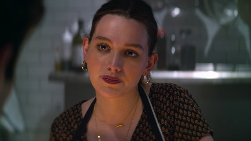 Love (Victoria Pedretti) in 'You' Season 2