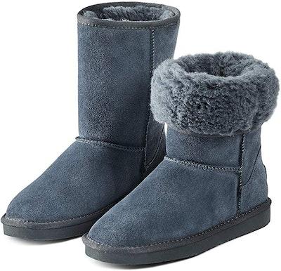 Adokoo Women's Winter Snow Boots