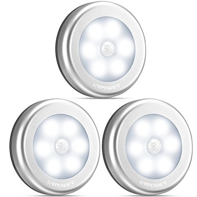 URPOWER Motion Sensor Lights (3-Pack)