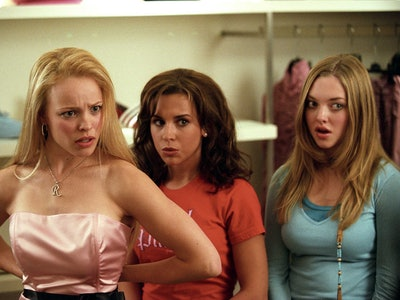 Rachel McAdams, Lacey Chabert, and Amanda Seyfried in Mean Girls