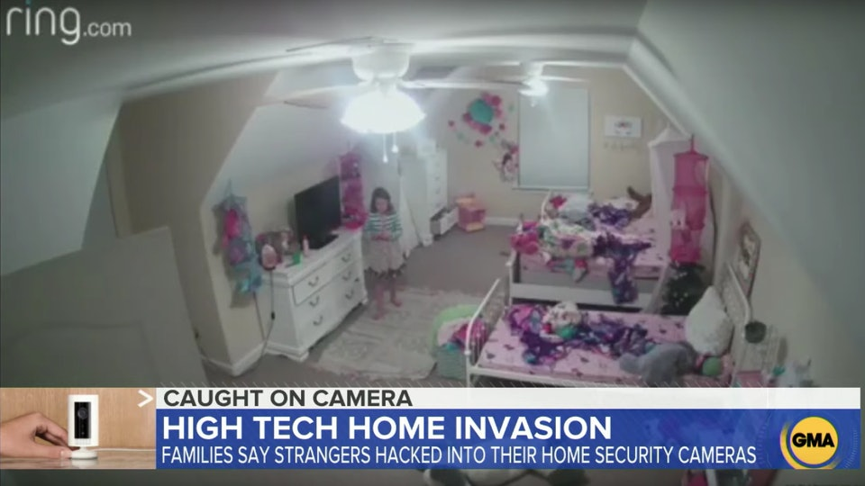 A mom is speaking out about her Ring camera allegedly getting hacked.