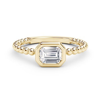 The Forevermark Tribute Collection Diamond Emerald Beaded Ring