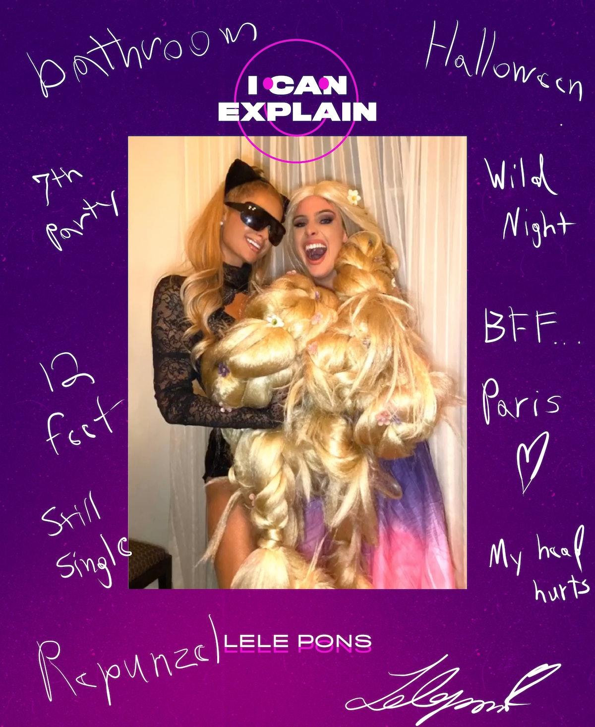 Lele Pons explains this photo with Paris Hilton for I Can Explain