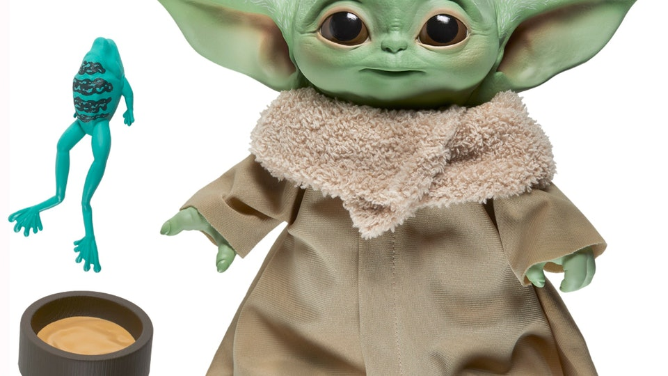'Star Wars' fans can now pre-order a talking Baby Yoda plush by Hasbro.