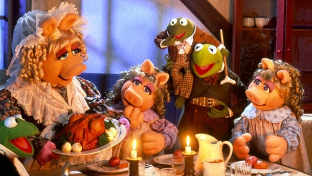 the Muppets in 'A Muppet Christmas Carol'