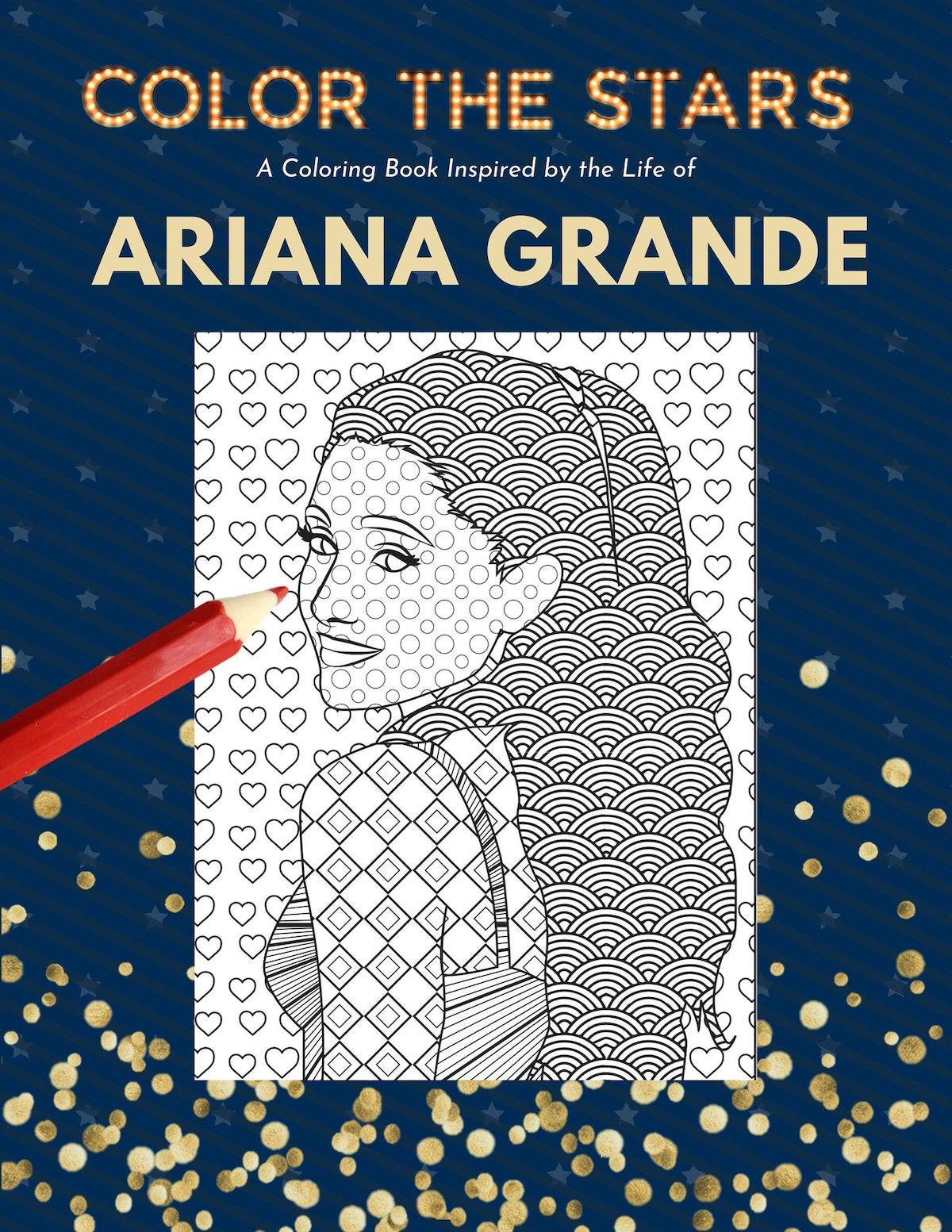 ColorTheStarsCo - Ariana Grande Inspired Coloring Book