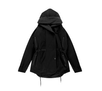 Euphoric Cozy Hooded Cocoon Travel Jacket