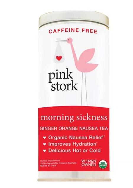 Pink Stork Tea: Morning Sickness Relief Pregnancy Tea