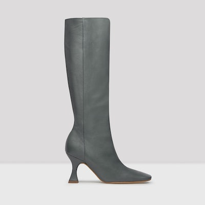 Inga Grigio Nappa Leather Boots