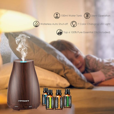 URPOWER Classical Essential Oil Diffuser with Essential Oils