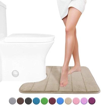 Yimobra Memory Foam Toilet Bath Mat