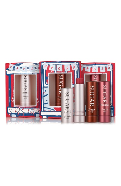 Three's A Charm Travel Size Sugar Lip Treatment SPF 15 Set