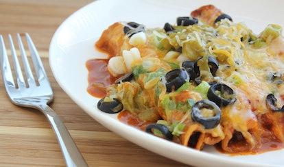 Turn your favorite Trader Joe's frozen dinner into a yummy casserole.
