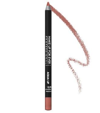 Aqua Lip Waterproof Lipliner Pencil in Medium Natural Beige