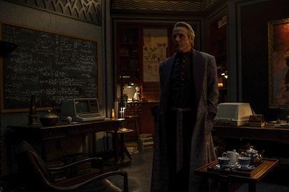 Veidt sent a mysterious message on 'Watchmen'