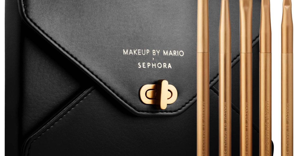The Makeup By Mario x Sephora Collab Is The Artist's First-Ever Brush Collection — & It's Dropping Soon
