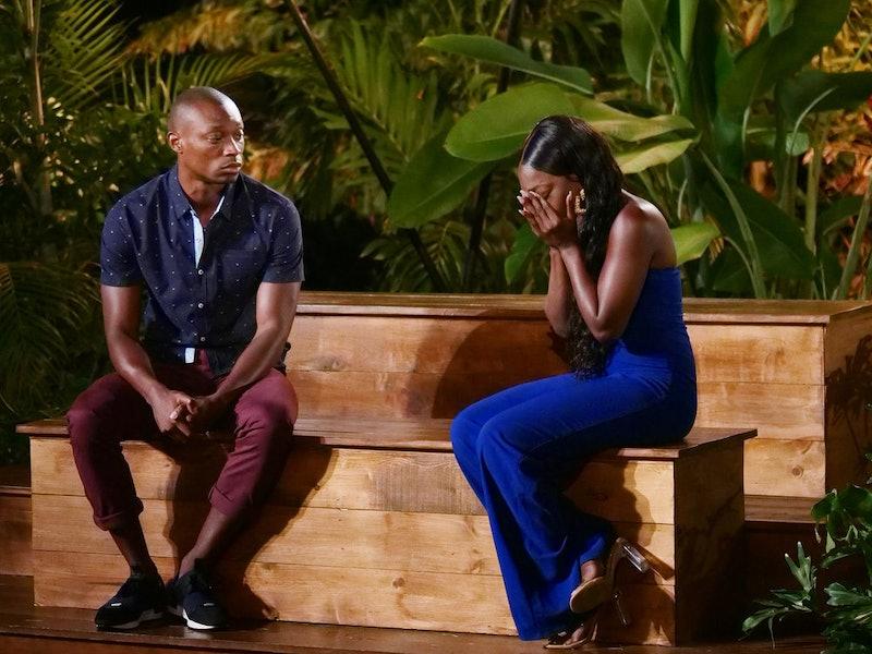 Ashley G. and Rick reunite at Temptation Island's final bonfire