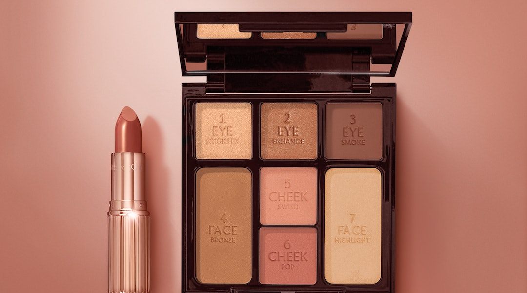 Charlotte Tilbury's new Stone Rose Palette is based off a best-selling lipstick shade
