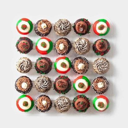 Holiday Cheer Cupcakes 25-Pack